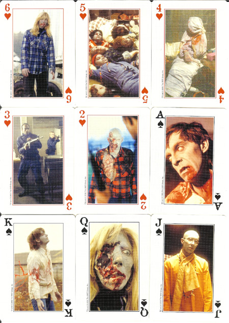 Dawn of the Dead Playing Cards