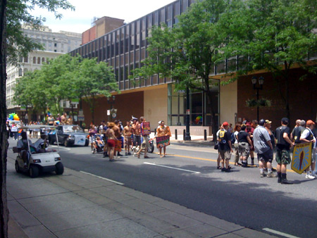 Gay Pride Parade on Market Street